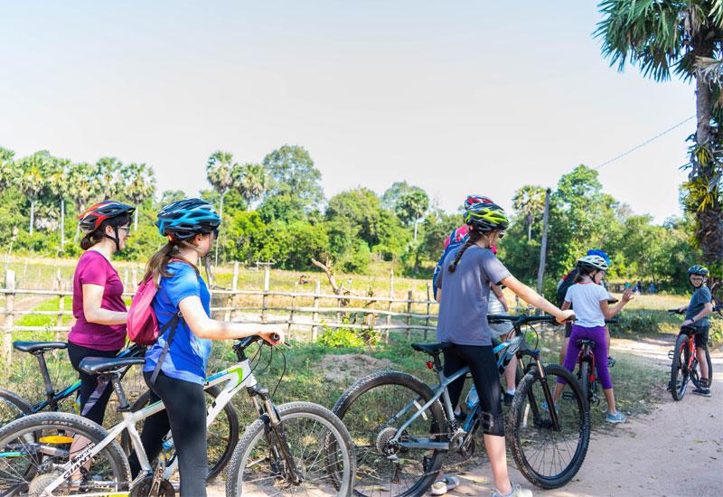 Cambodia cycling tours